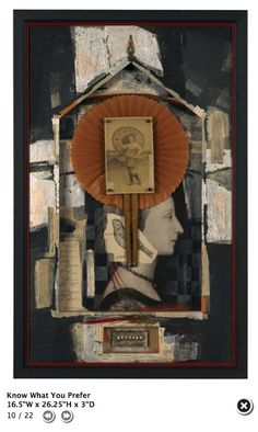 ⌼ Artistic Assemblages ⌼  Mixed Media & Collage Art - Bev Soasey