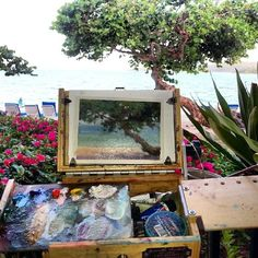 Plein Air Painting a Slice of Paradise in the Caribbean