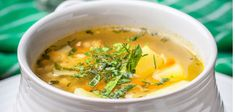 Pohánková polievka so zeleninou | Polievky | Recepty | FIT štýl