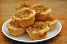 Homemade Butter Tarts | Amish Recipes Oasis Newsfeatures.  Maybe for Daddy?