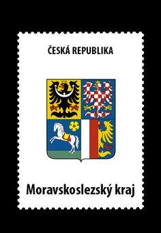 Czech Republic • Moravskoslezský kraj Czech Republic, Arms, Books, Bohemia, Livros, Livres, Book, Libri, Libros