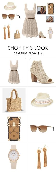 """""""No, we're never gonna turn to dust, Ya all we really need is us,Don't be scared to close your eyes, no we're never gonna die, we'll be the stars"""" by abskers ❤ liked on Polyvore featuring LE3NO, Jessica Simpson, Avenue, BCBGeneration, Louis Vuitton, Burberry and Vanessa Mooney"""