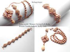 Kekagyöngye Frozen, Beaded Bracelets, Jewelry, Fashion, Moda, Jewlery, Jewerly, Fashion Styles, Pearl Bracelets