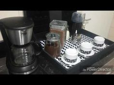 Cantinho do café e Máquina de bebidas B.Blend - YouTube