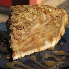 Dutch Apple Pie with Oatmeal Streusel - Allrecipes.com Modified for GF by using Pamela's instead of regular flour.
