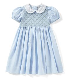 Shop for Friedknit Creations Baby Girls Months Floral Printed Smocked Dress at Dillard's. Visit Dillard's to find clothing, accessories, shoes, cosmetics & more. The Style of Your Life. Smocked Baby Clothes, Girls Smocked Dresses, Baby Clothes Patterns, Little Girl Dresses, Sewing Patterns, Dress Patterns, Dress Girl, Infant Girl Clothes, Clothing Patterns