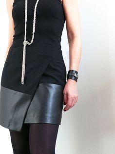 DIY: Une jupe portefeuille asymétrique comme Vanessa B.: