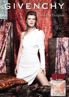 Valerija Kelava - Givenchy Reve d'Escapade Fragrance 2014