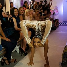 Beautiful contortionists for ambient entertainment or center stage! Elegantly costumed to suit your theme! Circus Acts, Contortionist, Stage Show, Holiday Themes, Center Stage, High Fashion, Suit, Glamour, Entertainment
