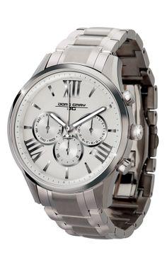 0900b809416 Jorg Gray White w  Silver Ladies Watch