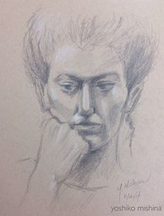 Yoshiko Mishina -Paintings: Ms. Chloe- Live Model  at AAWA Figure Drawing Open...