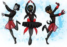 Spg Ballerinas by jameson9101322.deviantart.com on @deviantART