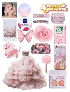 Steven Universe - Lion by grey-eyed-freak on Polyvore featuring polyvore, fashion, style, Zatchels, Hot Topic, Anastasia Beverly Hills, Nivea, Soap & Paper Factory, Dolce&Gabbana and clothing
