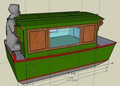 Small Houseboat Plans | www.tillerbooks.com