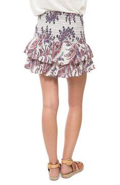 Cotton Skirt, Isabel Marant, Paisley, Floral, Google, Skirts, Fashion, Moda, Skirt