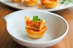 Seasaltwithfood: Easy Mini Pizza Cups