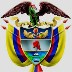 Colombian Coat of Arms Cali Colombia, Colombia South America, South America Travel, Colombian People, Pride And Glory, Country Landscaping, My Roots, The Beautiful Country, Countries Of The World