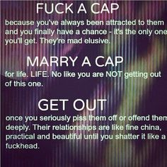Oh Yess!!! Don't mess with a cappie!!!