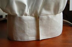 Kid's adjustable chef's hat -- and more amazing tutorials!