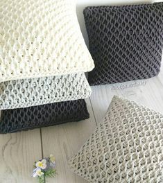 For those of you wondering how to make a crochet sample, we will offer you very . - knitting vest , For those of you wondering how to make a crochet sample, we will offer you very . For those of you wondering how to make a crochet sample, we will o. Crochet Diy, Tunisian Crochet, Crochet Home, Crochet Motif, Crochet Stitches, Crochet Shawl, Crochet Flowers, Crochet Cushions, Crochet Pillow