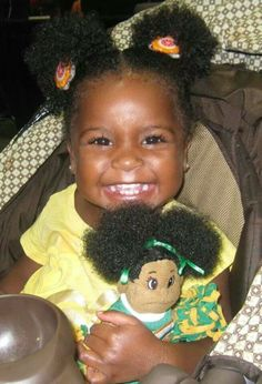 {Grow Lust Worthy Hair FASTER Naturally}        ========================== Go To:   www.HairTriggerr.com ==========================   Little Precious Naturalista!!!