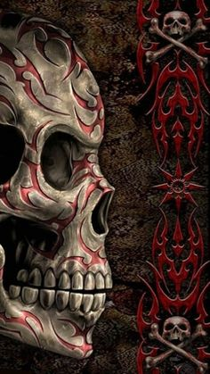 SKULL.......WALLPAPER SKULL AND DEATH..