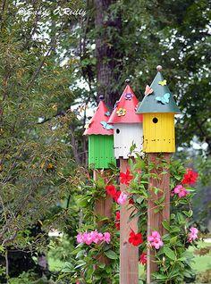 Birdhouses At Children's Garden | Flickr - Photo Sharing!