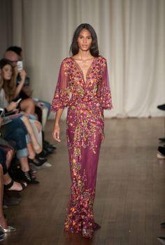 London Fashion Week Marchesa Primavera-Verano 2015 | telva.com