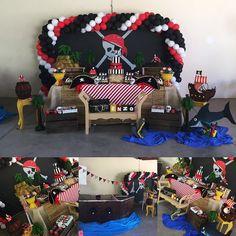 Ontem fizemos a festa Pirata do Enzo, filho da Dra Renata Pupo! #festamenino #pirata #kidsparty #ratchimbum #novaodessa