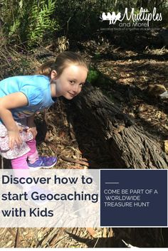 How to start #geocaching with your kids! #LetsPlayGeocaching #playmatters #summer #activity