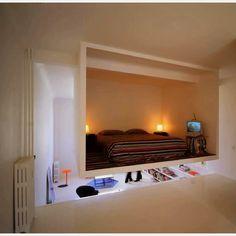Hanging bedroom. Designed by http://ecdm.eu