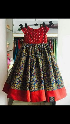 Baby Frock Pattern, Frock Patterns, Baby Girl Dress Patterns, Sewing Patterns, Long Frocks For Girls, Dresses Kids Girl, Baby Dresses, Kids Dress Wear, Kids Gown