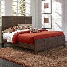 Home Styles Barnside Slat Panel Bed & Reviews | Wayfair