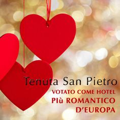 Tenuta san Pietro Luxury Hotel and Restaurant has been voted as the most romantic hotel in Europe.