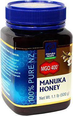 Manuka Honig MGO 400+ aus Neuseeland, 500g: Amazon.de: Lebensmittel & Getränke