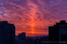 Sunrise in São Paulo /  © Alexandre F de Fagundes