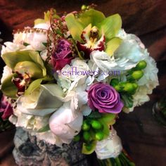 Lester bridal bouquet