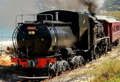 Cape Town's Hidden Treasures - Cape Town has many well known tourist attractions which include Table Mountain, The Victoria and Alfred Waterfront, Robben Island, Cape Point and many more. Read more . South African Railways, Old Steam Train, Choo Choo Train, Steam Railway, Train Times, Table Mountain, Train Engines, Hidden Treasures, Steam Locomotive