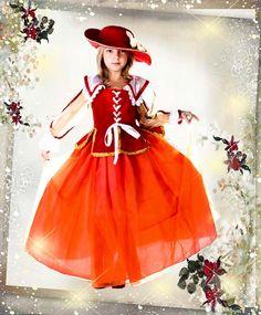 Юная леди - шаблон (костюм) для оформления фото в Фотошопе (для девочек)