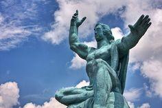 Nagasaki Peace Park #japan #nagasaki