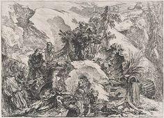Giovanni Battista Piranesi: The Skeletons: From the Grotteschi (37.45.3.38) | Heilbrunn Timeline of Art History | The Metropolitan Museum of Art