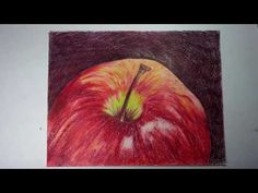 Colored Pencils : Apple Top - YouTube