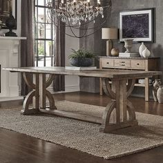 Lark Manor Valois Dining Table