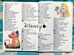 15 Magical Disney Bullet Journal Spreads - Brighter CraftYou can find List of disney movies and more on our Magical Disney Bullet Journal Spreads - Brighter Craft Bullet Journal Disney, Bullet Journal Netflix, Bullet Journal Tracker, Bullet Journal Notebook, Book Journal, Bullet Journals, Movie Bullet, Bullet Journal Spreads, Movie Tracker