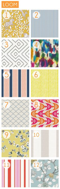 great fabric sources by Emily Henderson--the best fabric source roundup I've seen.