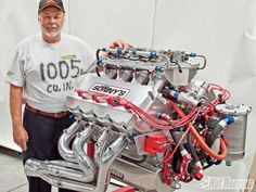 A tall deck, spread bore space, push rod, 2 valve per cylinder drag racing engine. Diesel, Crate Engines, Performance Engines, Combustion Engine, Car Engine, Hemi Engine, Engine Block, Drag Cars, Drag Racing