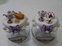sugar jar idea                                                                                                                                                                                 Mais