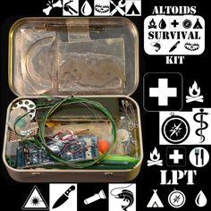 Comprehensive Altoids Survival Kit ... These teensy, tiny, little survival kits fascinate me.