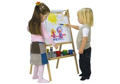 John Crane Children's Arts and Crafts Double Sided Easel