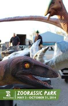 Zoorassic Park opens May 3! Learn more at www.tulsazoo.org/roar #roartulsa